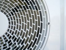 Air conditioning compressor. Outdoor unit Royalty Free Stock Image