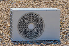 Air conditioning compressor Royalty Free Stock Photo