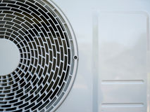 Air conditioning compressor. Outdoor unit Royalty Free Stock Photos