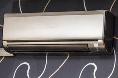 Air conditioning. On designer wallpaper Stock Photo