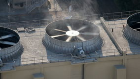 Air conditioning fan stock video