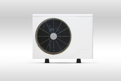 Air conditioning fan coil out door unit Royalty Free Stock Photo