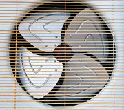 Air conditioning fan Royalty Free Stock Photo
