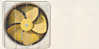 Air conditioning fan Royalty Free Stock Image
