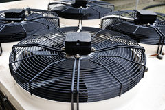 Air conditioning fans Stock Photography