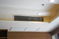 Air conditioning grille or hole royalty free stock photos