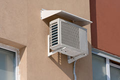 Air conditioning heat pump Stock Image