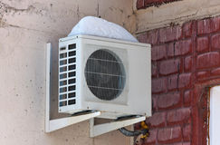 Air conditioning heat pump Royalty Free Stock Photo
