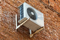 Air conditioning heat pump Stock Photo