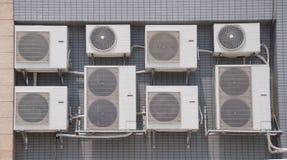 Air conditioning machine Stock Photos