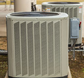 Air Conditioning Outside Umit Stock Photo