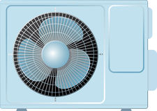 Air conditioning split Royalty Free Stock Photos