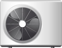 Air conditioning system. Small portable air conditioning system Stock Illustration