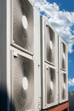 Air conditioning system royalty free stock photo