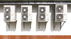 Air conditioning system. Royalty Free Stock Photos