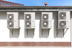 Air conditioning system. Royalty Free Stock Photo