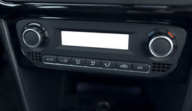 Air conditioning system and climate control car Royalty Free Stock Images