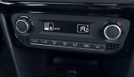 Air conditioning system and climate control car Royalty Free Stock Photography