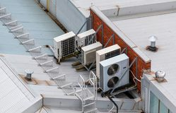 Air conditioning system on the roof