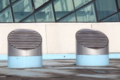 Air conditioning system  Royalty Free Stock Images