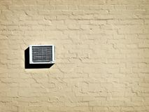 Air conditioning unit. Landscape photo of an air conditioning unit royalty free stock photo