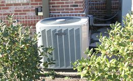 Air conditioning unit Royalty Free Stock Image