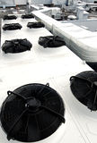 Air Conditioning Unit On Roof Stock Photo