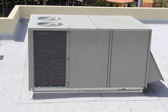 Air Conditioning Unit. A picture of a Air Conditioning Unit on a roof Royalty Free Stock Photography