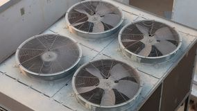 Air conditioning unit stock video