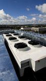 Air conditioning unit on roof Royalty Free Stock Photography