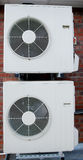 Air Conditioning Units Stock Photo
