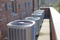 Free Air Conditioning Units Stock Image - 87269491