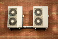 Air conditioning units Stock Image