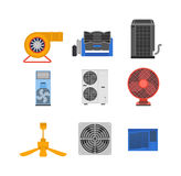 Air conditioning vector illustration. Stock Image