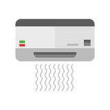 Air conditioning vector illustration. Royalty Free Stock Photography