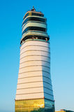 Air control tower in  Vienna International Airport Schwechat Stock Photography