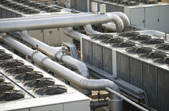 Air cooling industrial system Stock Photo