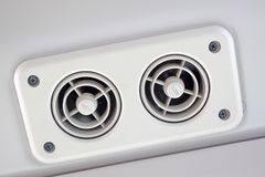 Air cooling vents Stock Photo