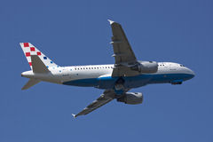 Air Croatia A319 takeoff Stock Photography