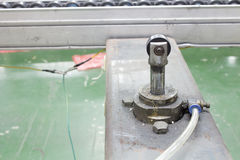 AIR CYLINDER Pneumatic system Stock Photos
