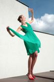 Air dance Royalty Free Stock Images