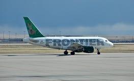 Air de frontière d'Airbus A319 Photo stock
