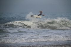 Air de John John Florence Photos libres de droits