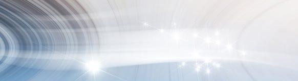 Air de tourbillonnement de fond avec l'étoile Photos libres de droits