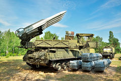 Air defense Stock Photography