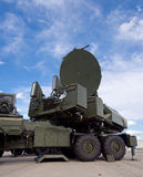 Air defense missile system Stock Photography