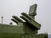Air defense missile. Air defense weapon is efficient in modern war Royalty Free Stock Photo