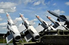 Air defense missiles. Stock Image