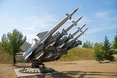 Air defense missiles Royalty Free Stock Images