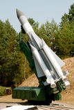 Air defense rocket missile Stock Image